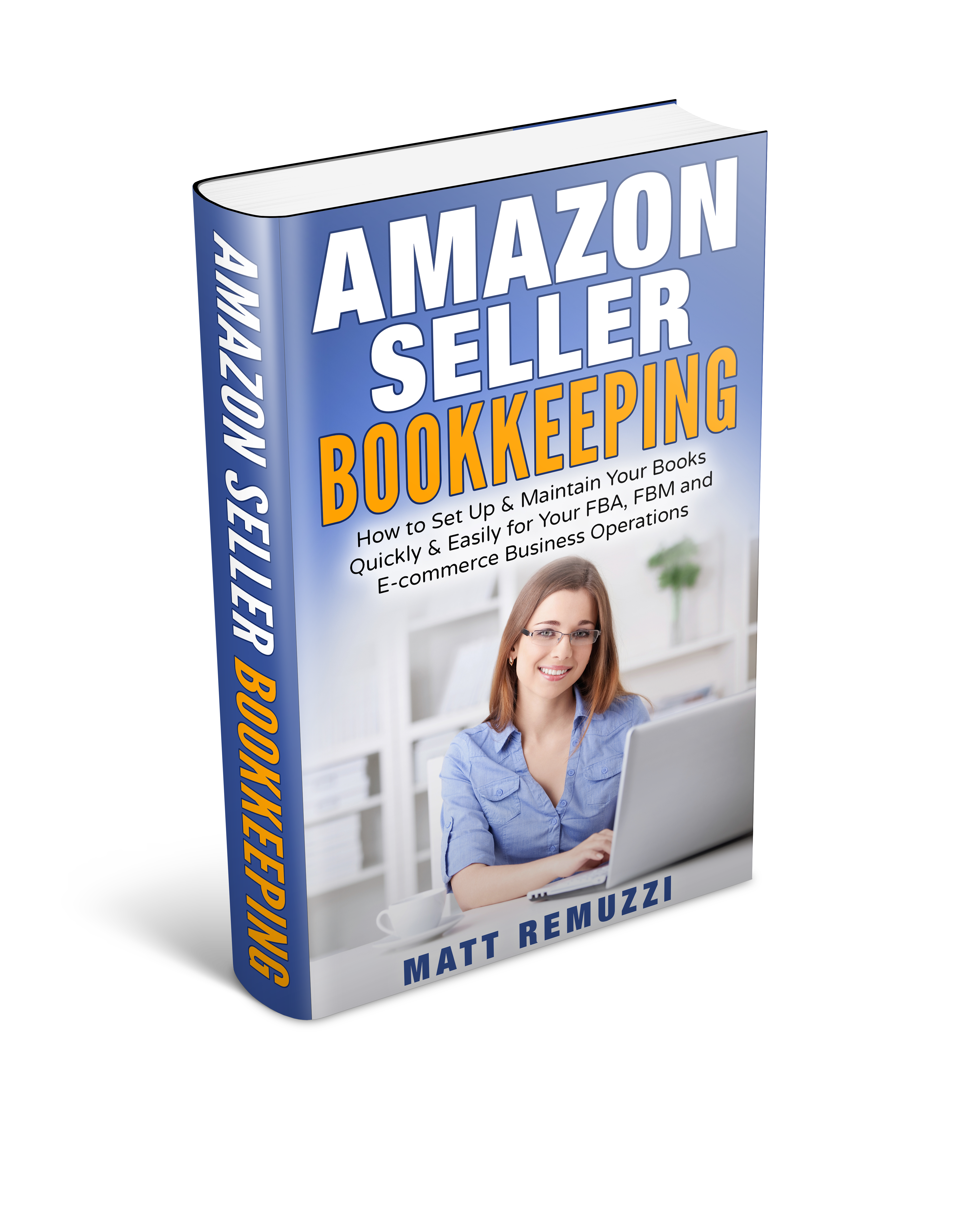 Amazon Seller Bookkeeping Book is Now Live on Kindle