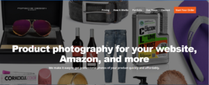Product Photography's home page.