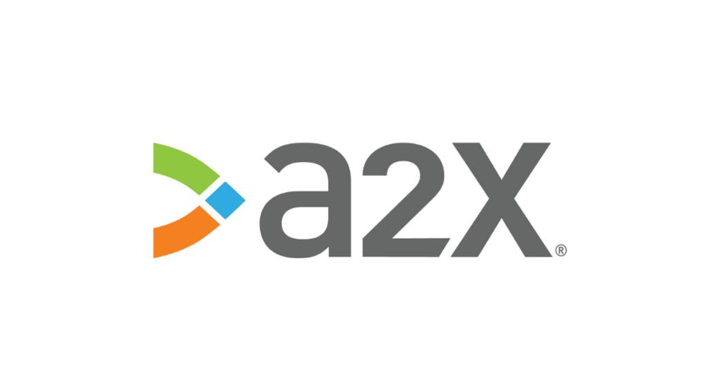 A2X's logo.