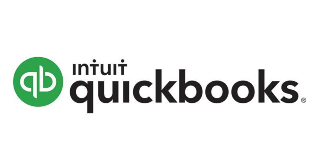 QuickBooks' logo.