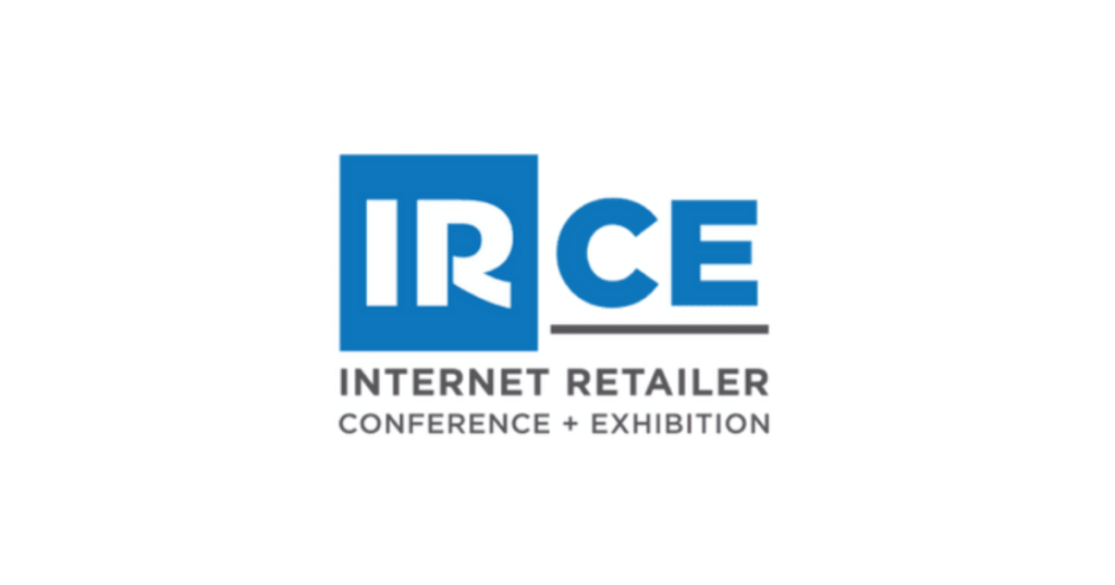 The logo for IRCE.