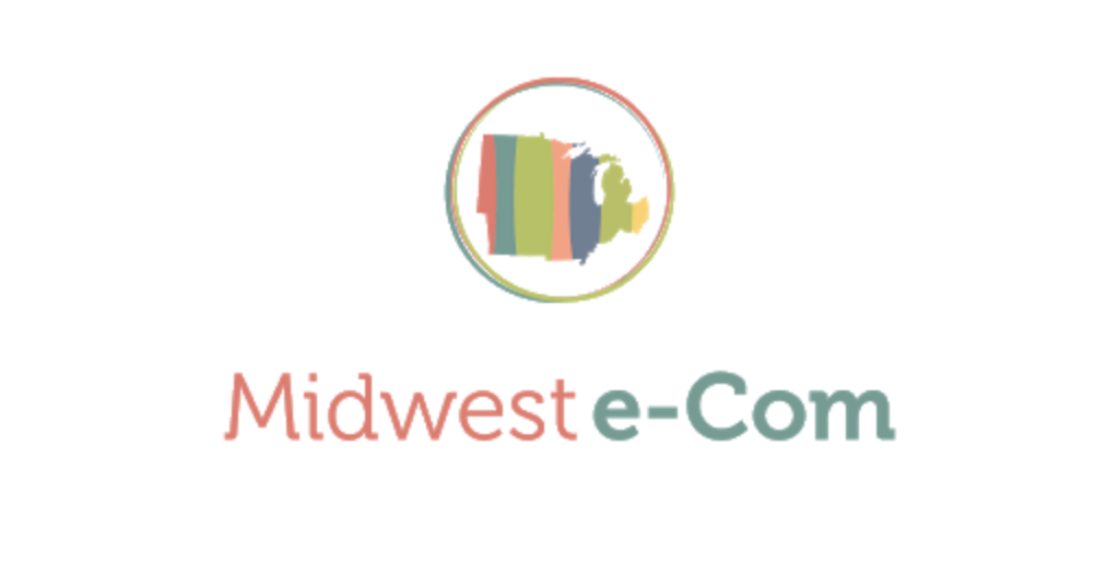 The logo for Midwest Ecom Conference.