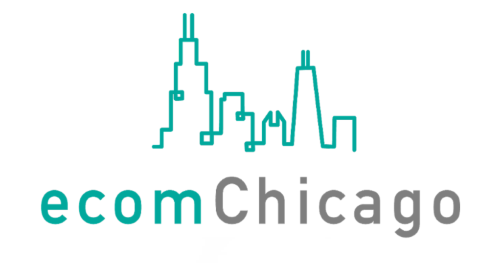 The logo for eCom Chicago.