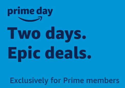 An advertisement from Amazon's website promoting Prime Day.