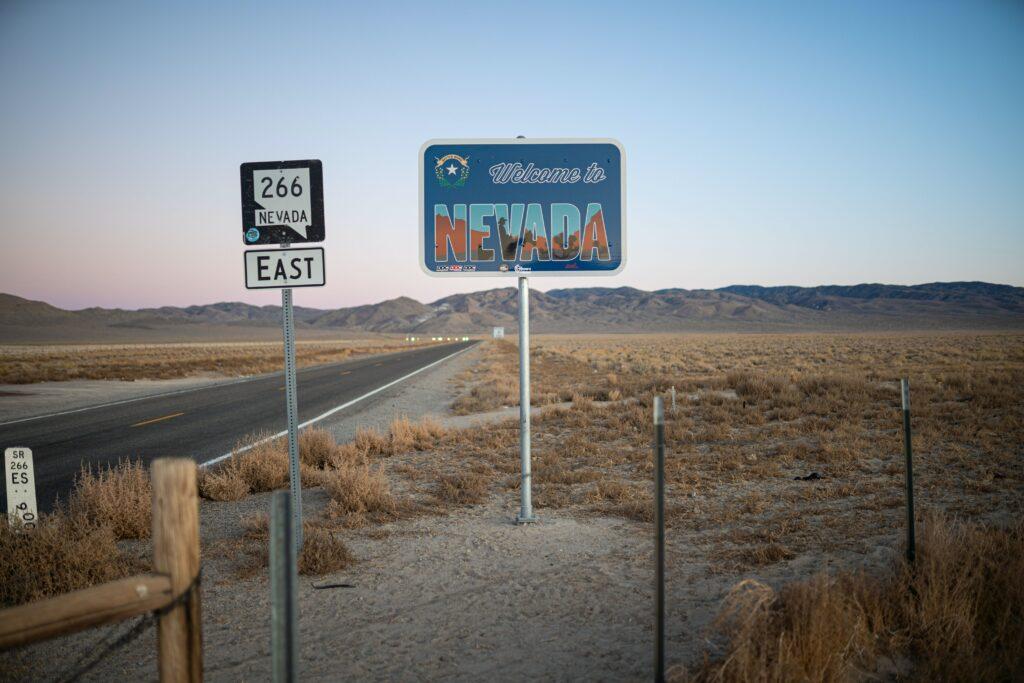 A photo of Nevada.