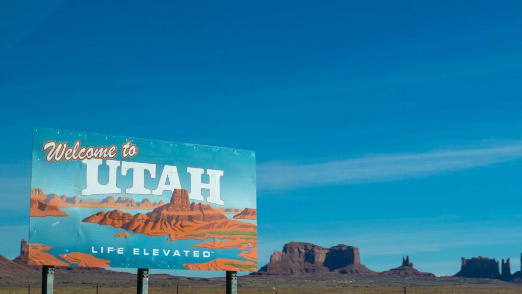 A photo of Utah.