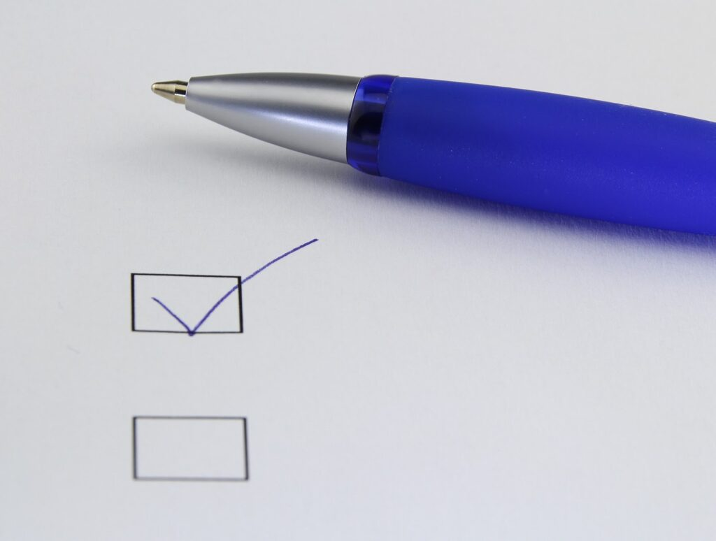 A checklist for small businesses.