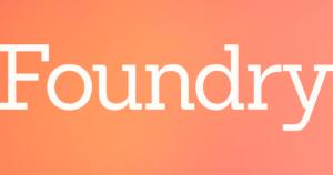 Foundry Brands' logo.